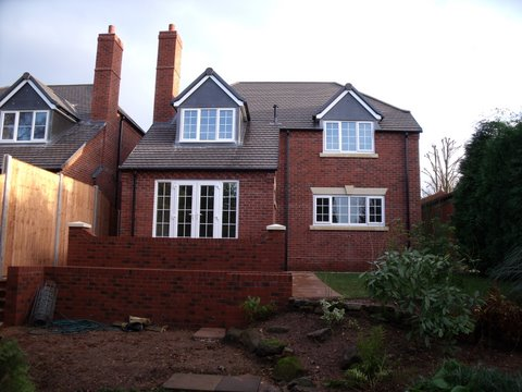 Luxury detached houses, Kidderminster